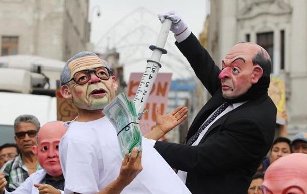 Протести у Перу проти помилування екс-диктатора переросли в сутички