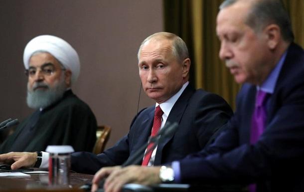 Союз Москви – Тегерану – Дамаску –Анкари: «розчленування» Сирії та подальші дії