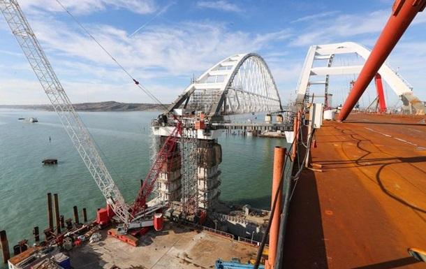 З явилися фото готової ділянки Кримського мосту