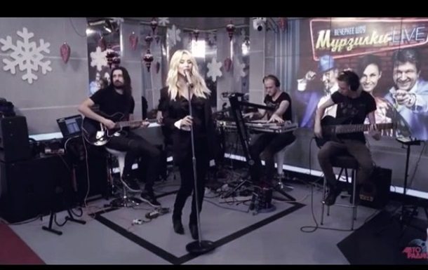 Светлана Лобода выронила микрофон в прямом эфире