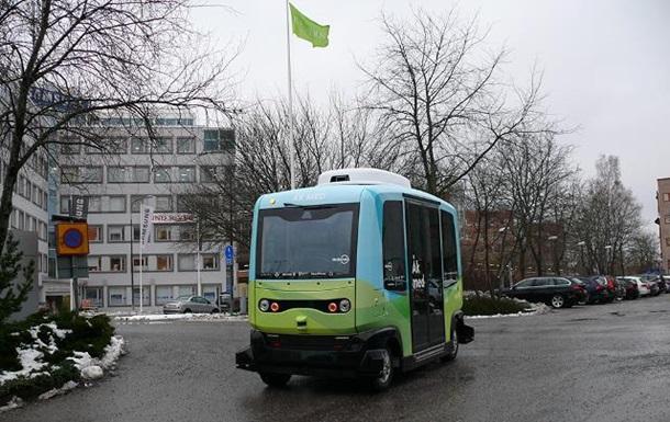 В Стокгольме запустили беспилотные автобусы