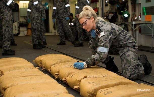 Австралійські військові перехопили партію гашишу на $325 млн