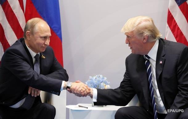 Путін привітав Трампа з Новим роком