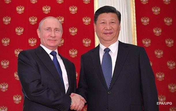 СиЦзиньпин объявил оготовности расширять сотрудничество сРоссией