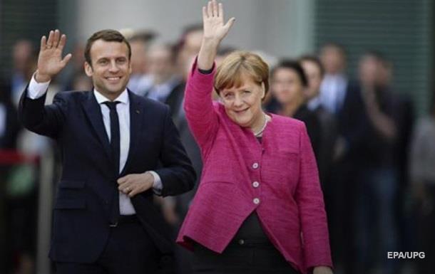 Меркель пообіцяла об єднати ЄС спільно з Макроном