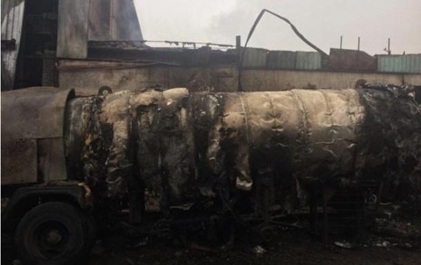 На Дніпропетровщині вибухнула цистерна з газом