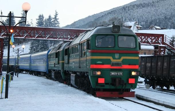 Новий рік у потягах зустрінуть понад 17 тисяч українців
