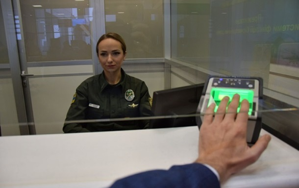 Украина вводит биометрический контроль на границе
