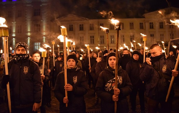 У Львові марш на честь дня народження Бандери зібрав 400 осіб