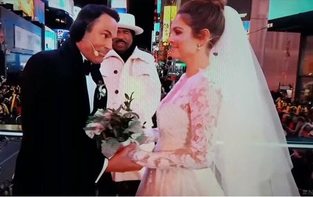Хвора на рак актриса в прямому ефірі вийшла заміж