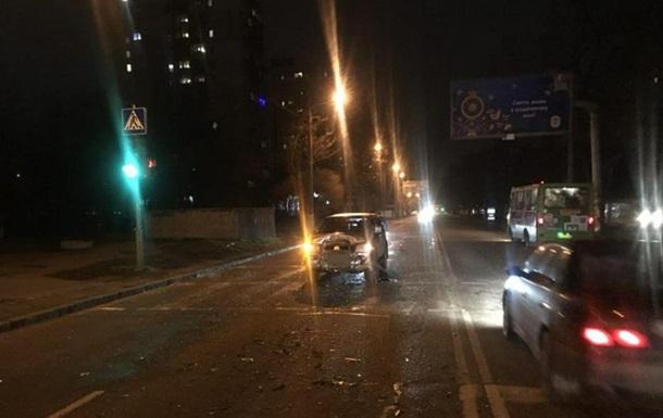 В Одесі п яний на кросовері протаранив автомобіль Smart