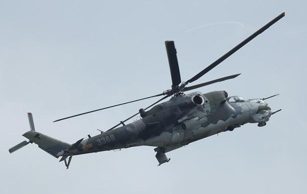 В Сирии разбился российский вертолет