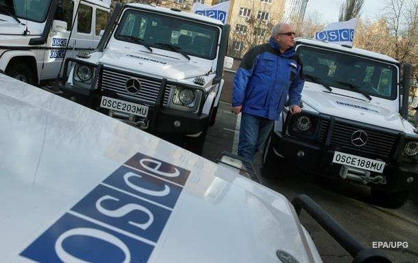 У Макіївці п яний сепаратист пошкодив авто ОБСЄ