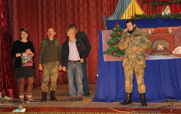 Зустріч з сім'ями військовослужбовців на Святого Миколая