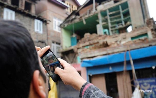 В Індії стався сильний землетрус