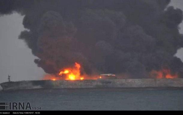 Столкновение у берегов Китая: весь экипаж танкера погиб