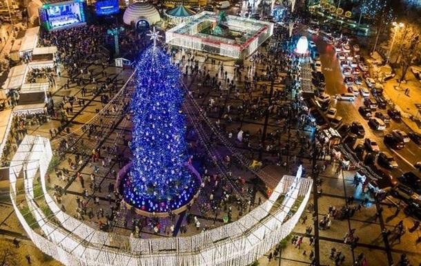 Як святкували Різдво в українських містах