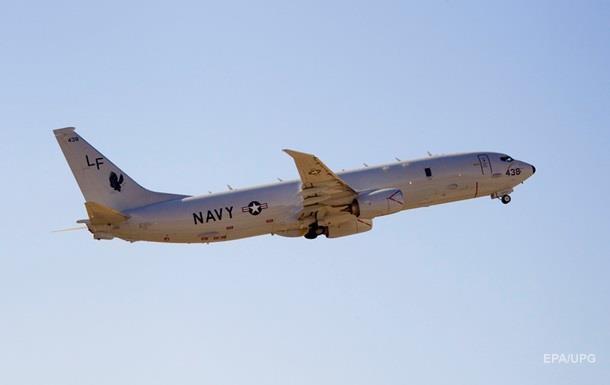 Літаки США провели розвідку біля узбережжя Криму