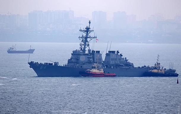 Американский эсминец Carney зашел в порт Одессы