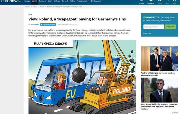 Страсти по Польше ведут к развалу Евросоюза