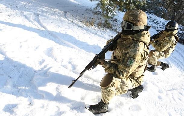 Украина усилила охрану границы на трех направлениях