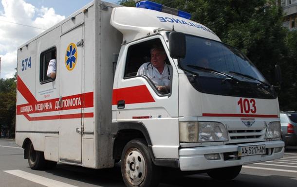 В Харькове посреди улицы умерла женщина