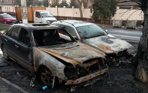 В Одессе сожгли два авто с польскими номерами