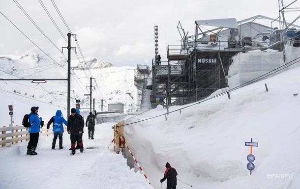 На швейцарському курорті заблоковані 13 тисяч туристів