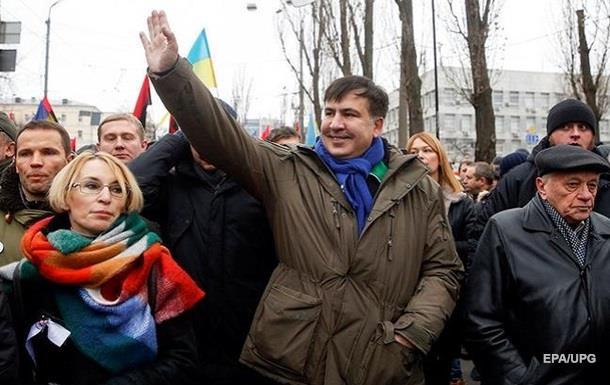 Саакашвілі відновить марші в Києві з 21 січня