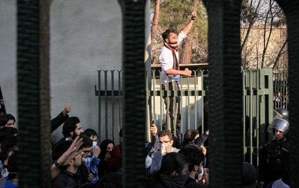 Кількість затриманих під час протестів в Ірані може сягати 3700