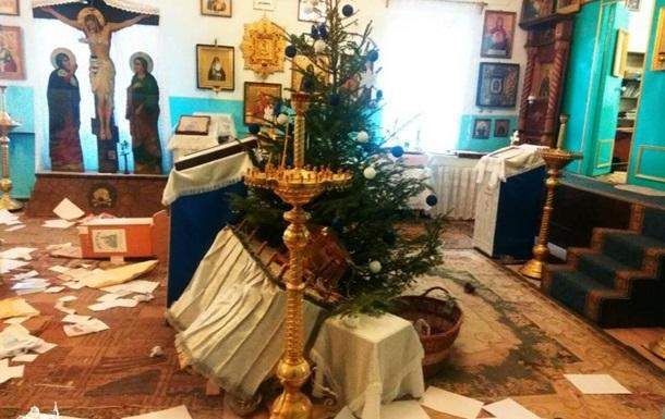 В Одесской области неизвестные устроили погром в храме