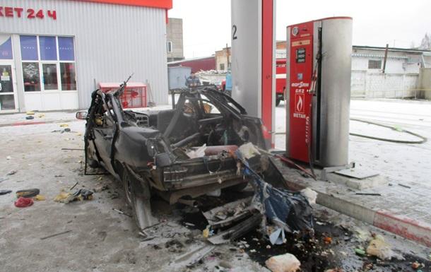 В Шостке на заправке взорвалось авто, есть пострадавшие
