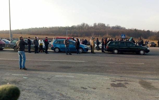 На Львовщине разблокировали подъезды к границе