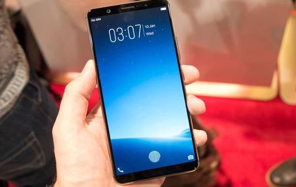 Показан первый смартфон со встроенным в экран сканером отпечатков