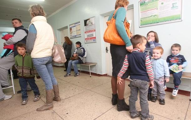 В Киеве непривитых от кори детей не пустят в школы