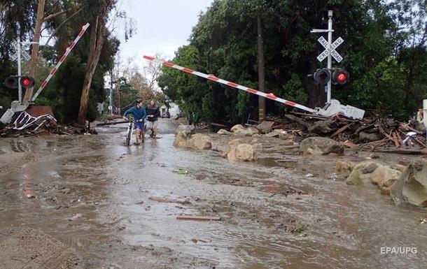 У Каліфорнії зростає кількість жертв злив