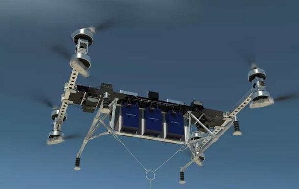 Вантажний дрон від Boeing переносить 220 кг вантажу