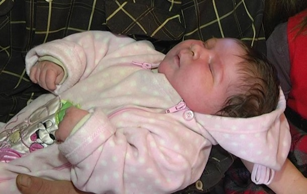 У Запорізькій області народилася дитина вагою 7 кг