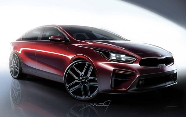Kia розсекретила дизайн нового седана Cerato