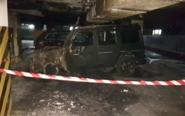 У Києві спалили авто активіста