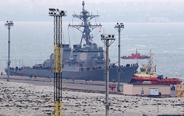 ВМС Украины и США провели учения в Черном море