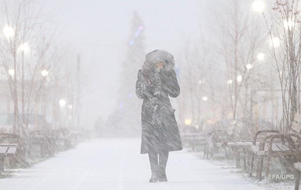 В Украину идут морозы с января