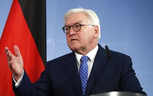 В Украину едет президент Германии Штайнмайер