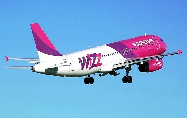 WizzAir увеличил перевозки на украинских рейсах почти на 80%