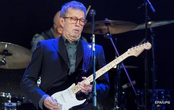 Ерік Клептон зізнався у поступовій втраті слуху