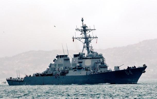 Черное море покинул эсминец ВМС США