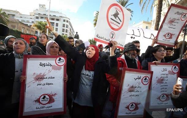 Протесты в Тунисе: власти предложили помощь бедным