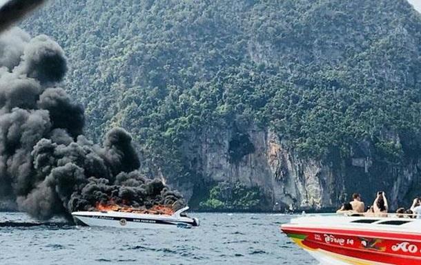 У Таїланді вибухнув катер з туристами: 16 постраждалих