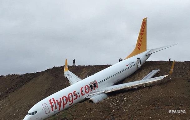 З явилося відео з літака, що падає в море в Туреччині