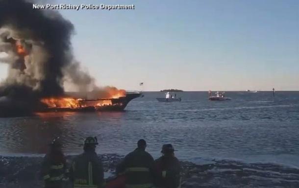 У Мексиканській затоці через пожежу на плавучому казино постраждали 15 осіб